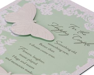 Lasting Love Wedding Card