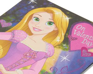 Rapunzel Valentine's Day Card