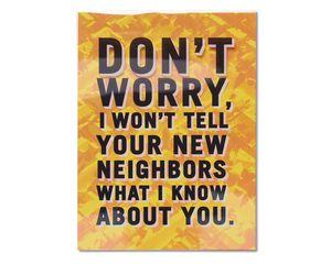 Neighbors New Home Congratulations Card