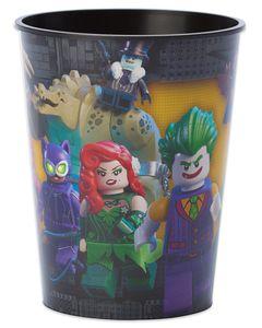 lego batman plastic stadium cup
