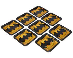 lego batman dinner plate 8 ct