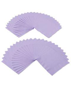 lavender lunch napkins 50 ct