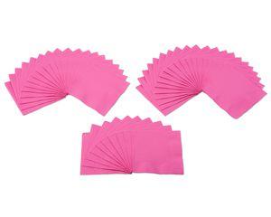 bright pink beverage napkins 50 ct