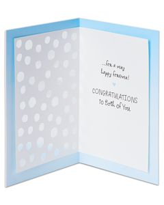happy forever bridal shower card