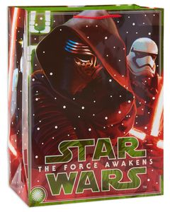 jumbo star wars episode vii christmas gift bag