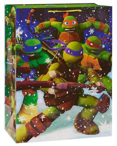 large teenage mutant ninja turtles christmas  gift bag