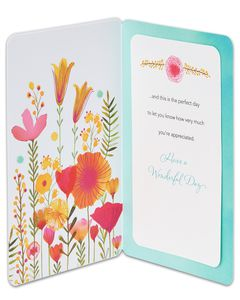 warmth thoughtfulness and caring mother's day card