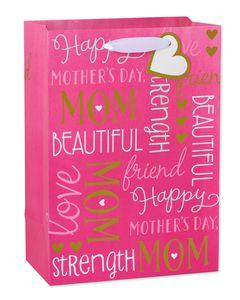 small celebrating mom gift bag
