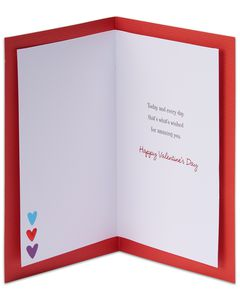 smiles love happiness valentine's day card