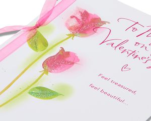 feel treasured valentine's day card