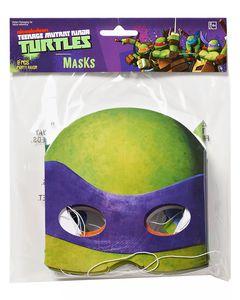 teenage mutant ninja turtles masks 8 ct