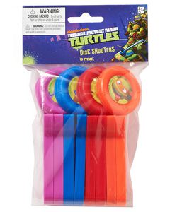 teenage mutant ninja turtles disc shooter 8 ct