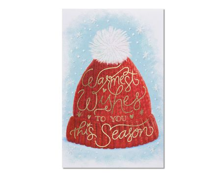 Warmest Wishing Christmas Card