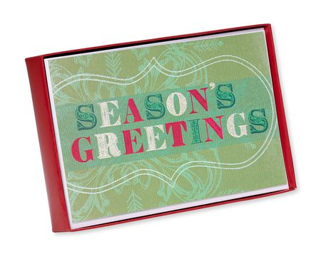 festive season's greetings