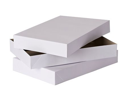 large shirt gift boxes with lids 2 ct