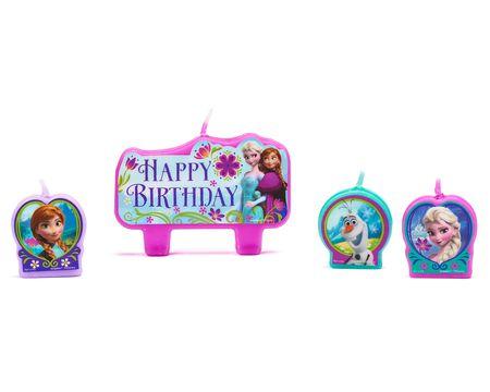 frozen birthday candles 4 ct