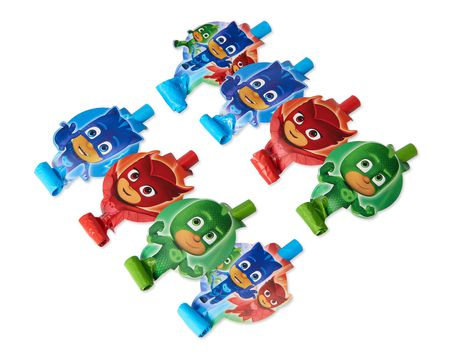 PJ Masks 8-Count Party Blowers
