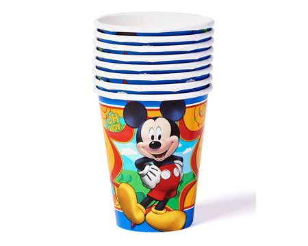 mickey mouse clubhouse paper cups 8 ct