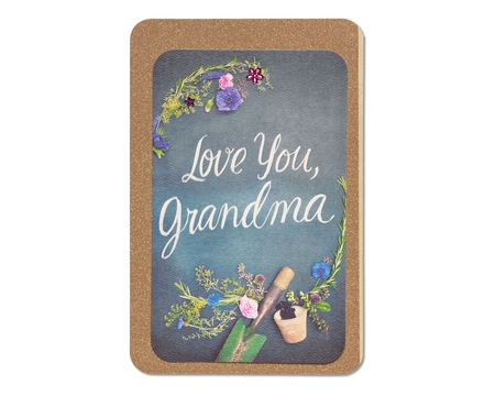gardening mother's day card for grandma