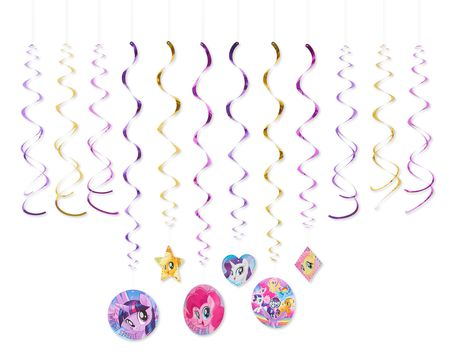 My Little Pony Hanging Party Decorations