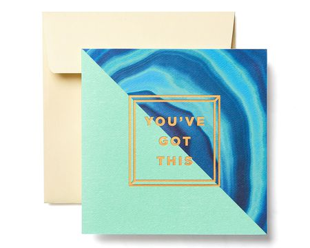 You've Got This Greeting Card - Support, Thinking of You, Encouragement