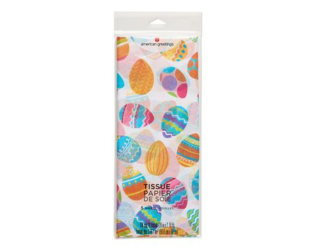 easter egg tissue paper 6 ct