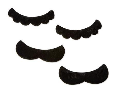 Super Mario Mustaches, 4-Count