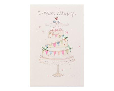 Wedding Wishes Wedding Card