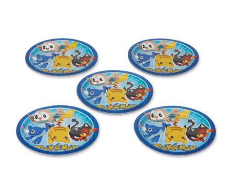 Pokémon 8-Count Dinner Round Plate