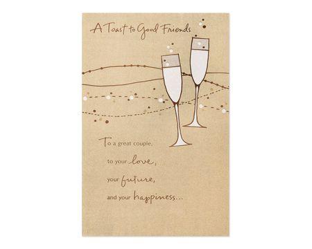Good Friends Wedding Card