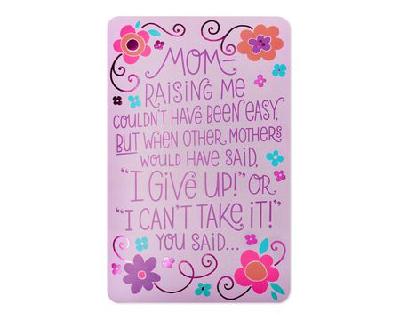 I Will Survive Mother's Day Card