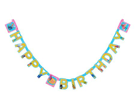 trolls birthday party banner