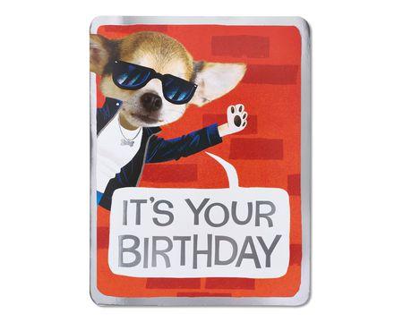 Right Notes Birthday Card