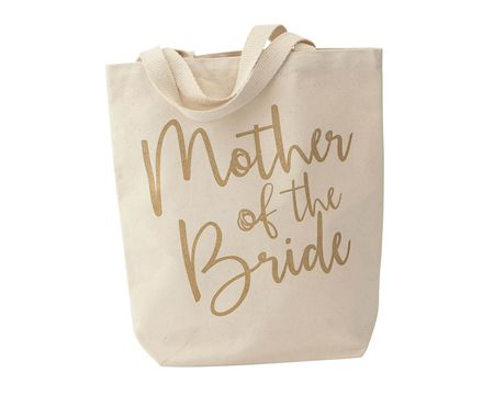 Mud Pie Mother Of The Bride Wedding Canvas Totes
