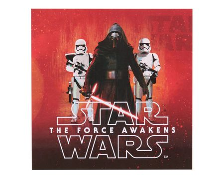 star wars: the force awakens lunch napkins 16 ct
