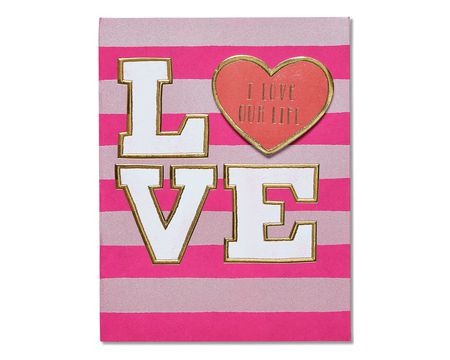 you and me valentine's day card