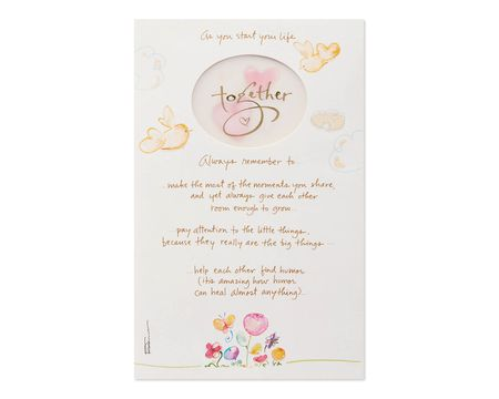 Together Wedding Card