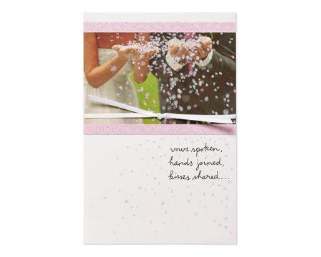 Marriage Begins Wedding Card