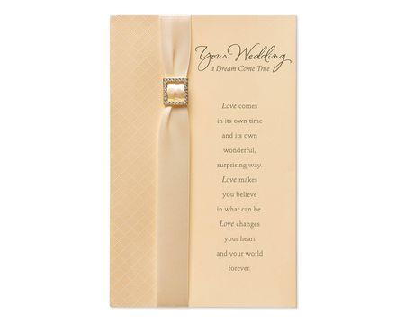 Dream Come True Wedding Card