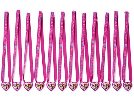frozen charm necklaces 12 ct