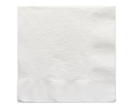 white lunch napkins 50 ct