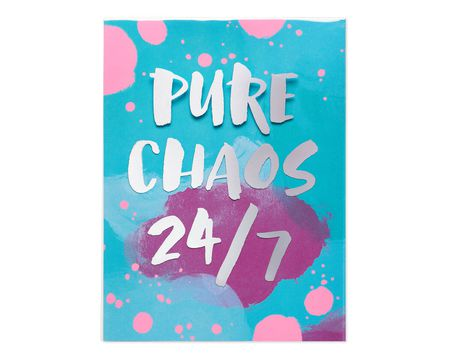 Pure Chaos Mother's Day Card