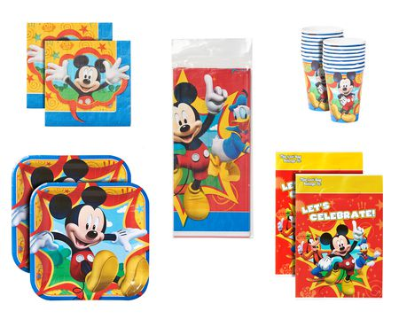 mickey mouse clubhouse party value pack 16 ct