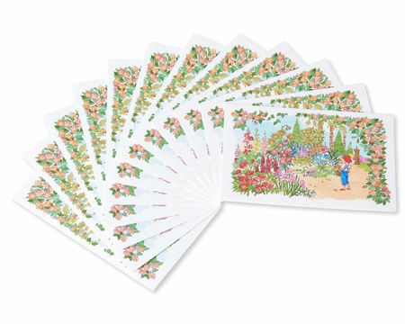 Jackie Lawson Country Garden Note Cards