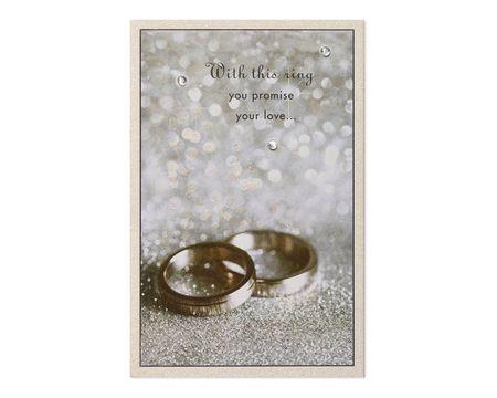 Rings Wedding Card