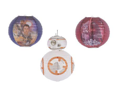 Star Wars Episode VII Paper Lantern Decoration, 4 Count