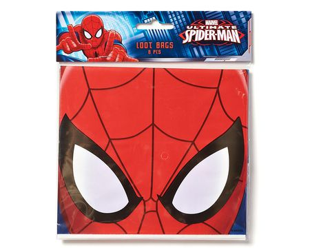 spider-man treat bags 8 ct