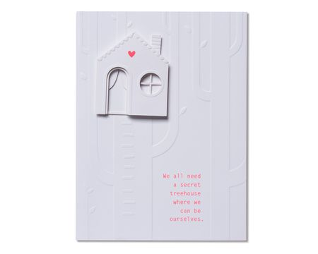 Secret Treehouse Thinking of You Card