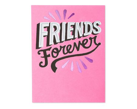 Friends Forever Valentine's Day Card