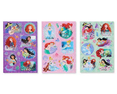 Disney Princess Sticker Sheets, 152-Count